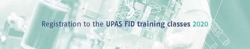 Registration to the UPAS FID training classes 2020